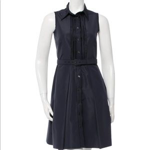 Prada navy dress